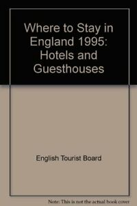 Where-to-Stay-in-England-1995-Hotels-and-Guesthouses-By-English-Tourist-Board