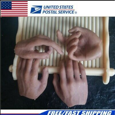 """4pcs 1//6 Open hand Hold the gun Hand For 12/"""" male Hot Toys Figure"""