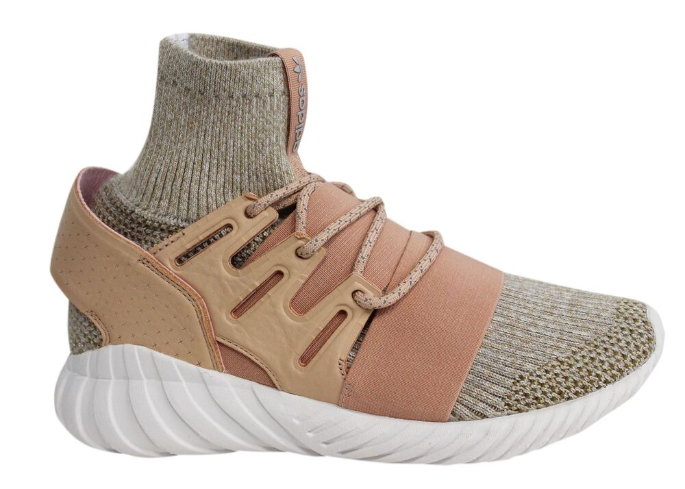 Adidas Tubular Doom PK lacets marron chaussette fit Baskets Homme BB2390 M3-