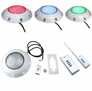 558 Led Color Changing 12v Swimming Pool Underwater Light W Remote Control Ebay