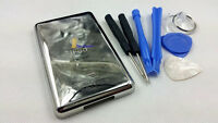 metal back rear housing case cover shell for ipod 6th gen classic thick 160gb