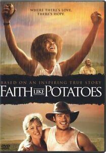 FAITH LIKE POTATOES New Sealed DVD