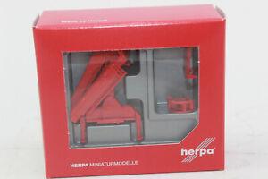 Herpa-051491-Heck-gru-di-carico-con-gancio-Hiab-1-87-h0-NUOVO-IN-SCATOLA-ORIGINALE