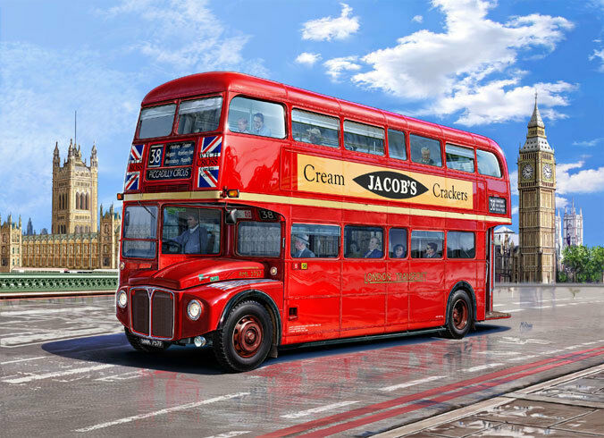 Revell 1 24 07651  Omnibus Londres Bus
