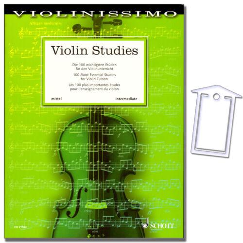 ED21564-9783795747893 Violin Studies Violinissimo 4 Noten mit NotenKlammer
