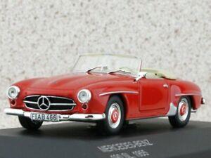 MB Mercedes Benz 190 SL - 1955 - red - WhiteBox 1:43