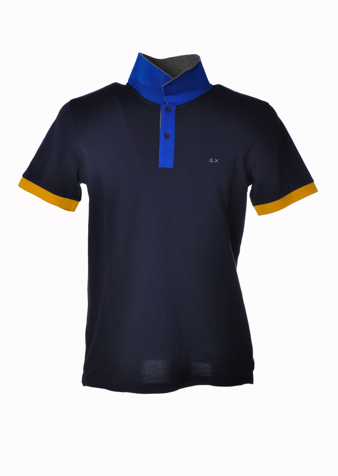 Sun 68 - Topwear-Polo - Man - bluee - 3199806C195014