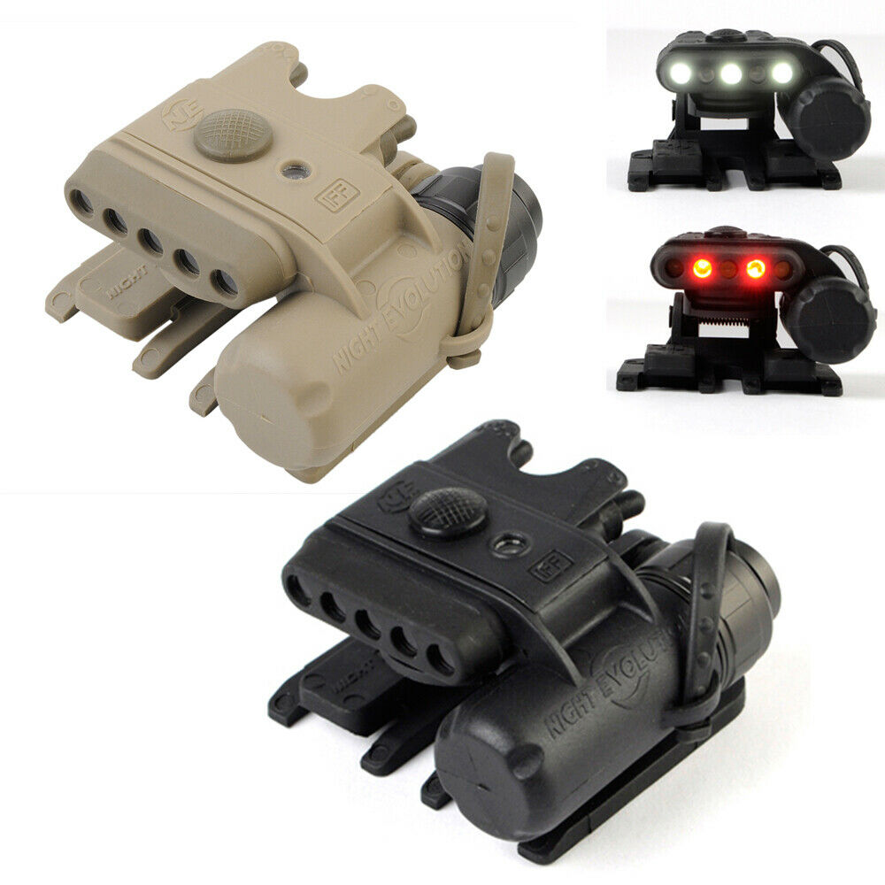 Tactical Helmet Light Gen3 LED Lamp  White & Red Light for MICH 2000 Molle System  hastened to see