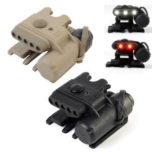 Tactical-Helmet-Light-Gen3-LED-Lamp-White-amp-Red-Light-for-MICH-2000-Molle-System