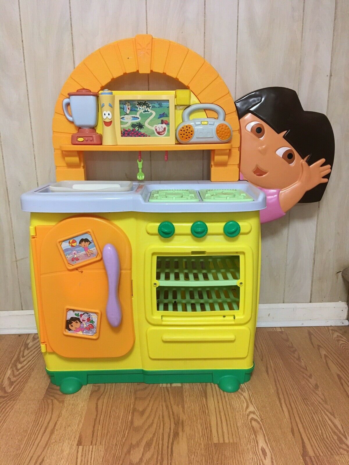 Fisher Price Dora The Explorer Talking Kitchen For Sale Online