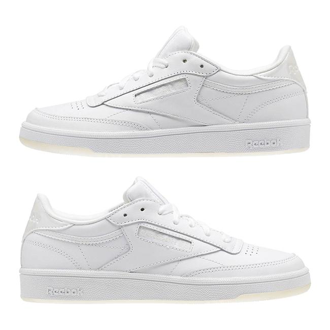 New femmes Reebok CLUB C 85 Leather Pearl blanc BS5163 US 5.5 - 11.0 TAKSE