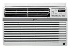 LG LW8016ER - 8,000 BTU 110V Window A/C: Remote & Window Accessories Included