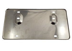 Number-Plate-Backing-In-Stainless-Steel-For-Austin-Sprite-MG-Midget-AHA5211SS
