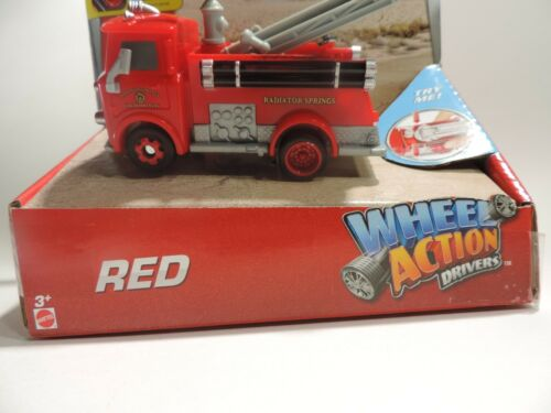 Disney Pixar Cars Wheel Action Drivers Red The Fire Engine Radiator Springs Toys