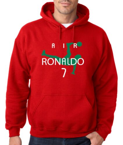 "Cristiano Ronaldo /""Air Ronaldo Portugal/""  jersey Hooded SWEATSHIRT HOODIE"