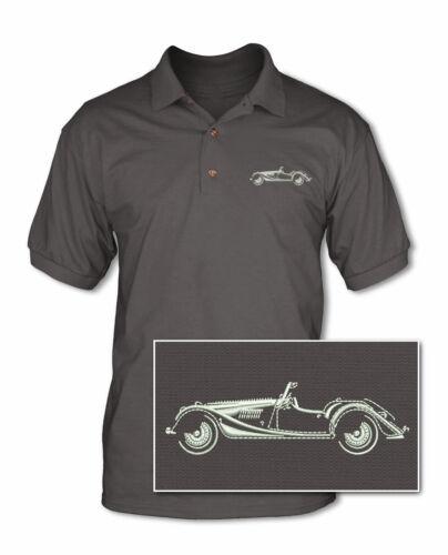 British Classic Car Morgan 4//4 Convertible Polo Shirt Multiple Colors Sizes
