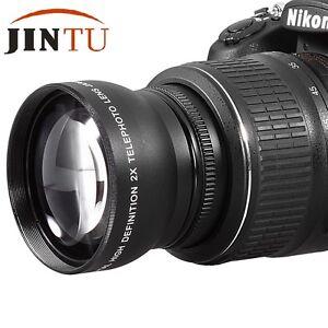Details about 58mm 2X Teleconverter Conversion Lens for Canon EOS 1200D  1100D 700D 650D Camera