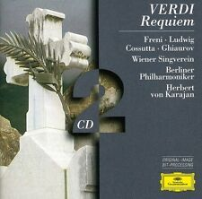 Herbert von Karajan, Verdi & Bruckner - Requiem / Te Deum [New CD] Germany - Imp