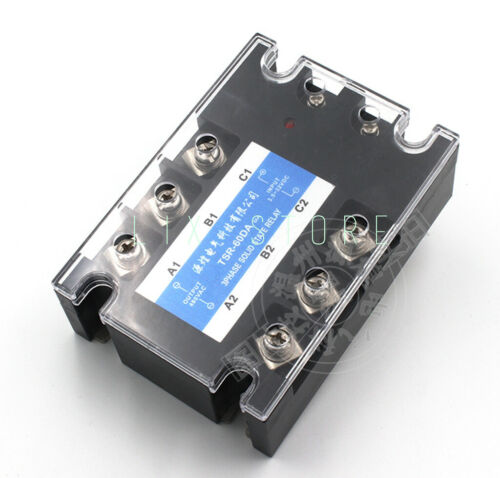 Details about  /Three-phase solid state relay 60DA DC control AC 60A