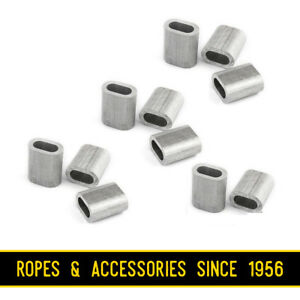 Aluminium Wire Rope Ferrules Crimping Sleeve Also For Marine Stainless Steel Wir