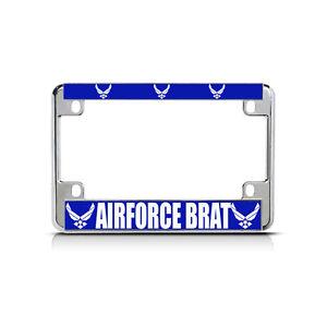 DISABLED VET VETERAN Chrome Heavy Duty Metal License Plate Frame Tag