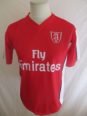 2019 Ultimo Disegno Maillot De Football Vintage Arsenal N°8 Nasri Réplica Rouge Taille S