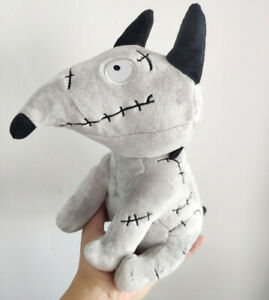 25th Anniversary Disney Tim Burton Frankenweenie 10 Plush Sparky Dog Plush Doll Ebay