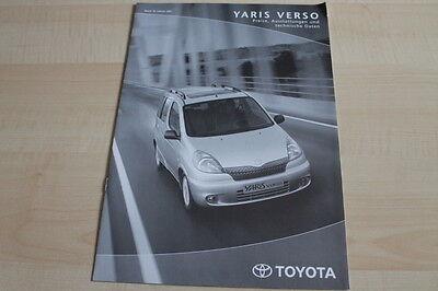119636) Toyota Yaris Verso - Preise & Technische Daten & Ausstattungen - Prospek Gesundheit Effektiv StäRken