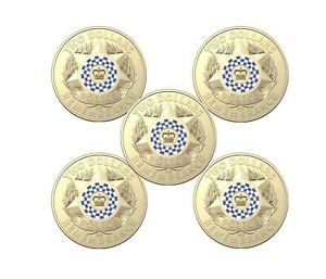 2019-2-Dollar-Coloured-Coins-POLICE-REMEMBRANCE-RAM-LOGO-SACHET-OF-5-Coins