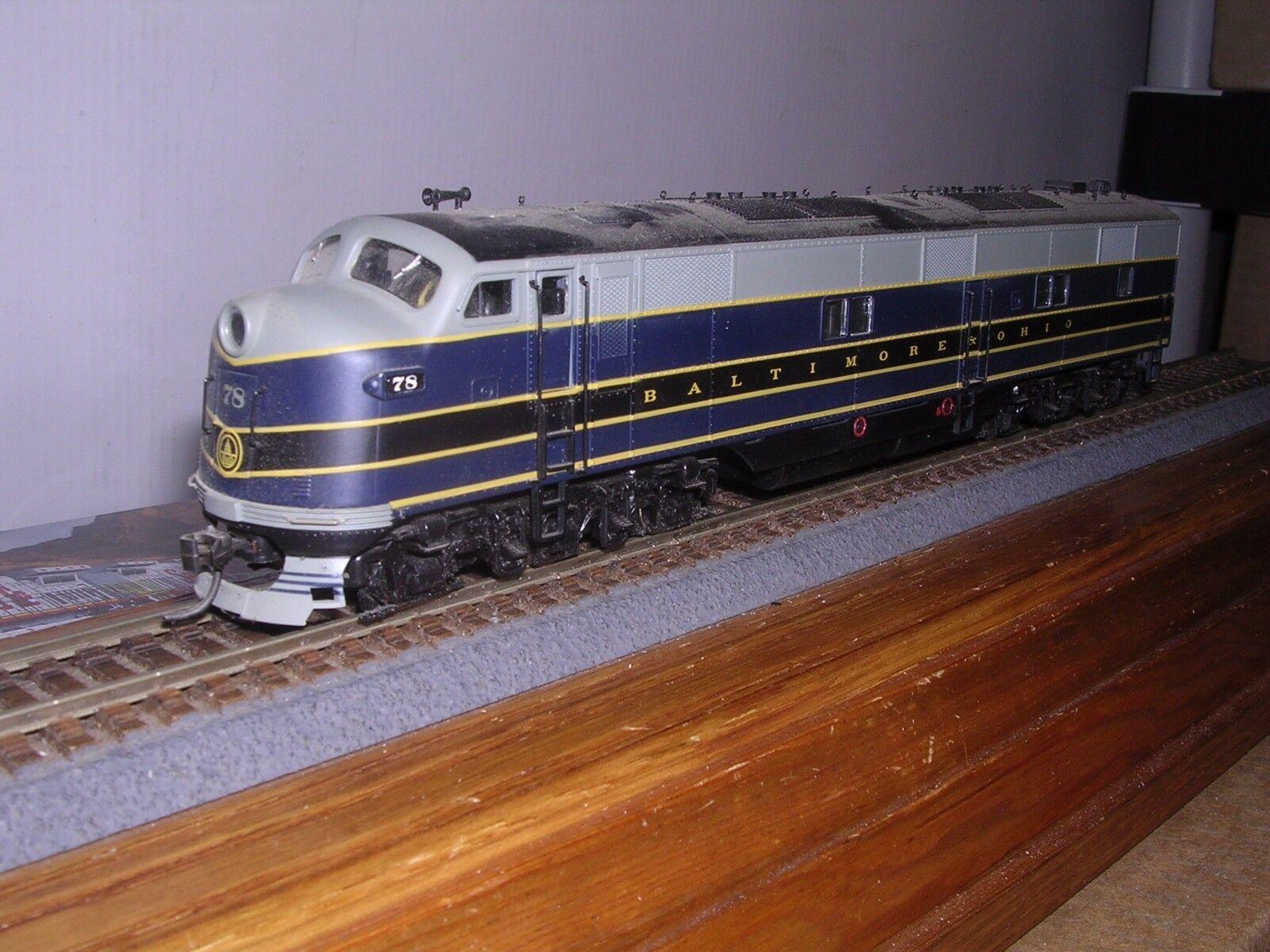 mejor marca L.L. P2K P2K P2K  21059 Baltimore & Ohio EMD E7A diesel loco Nº  78 del 1 87  tienda de venta