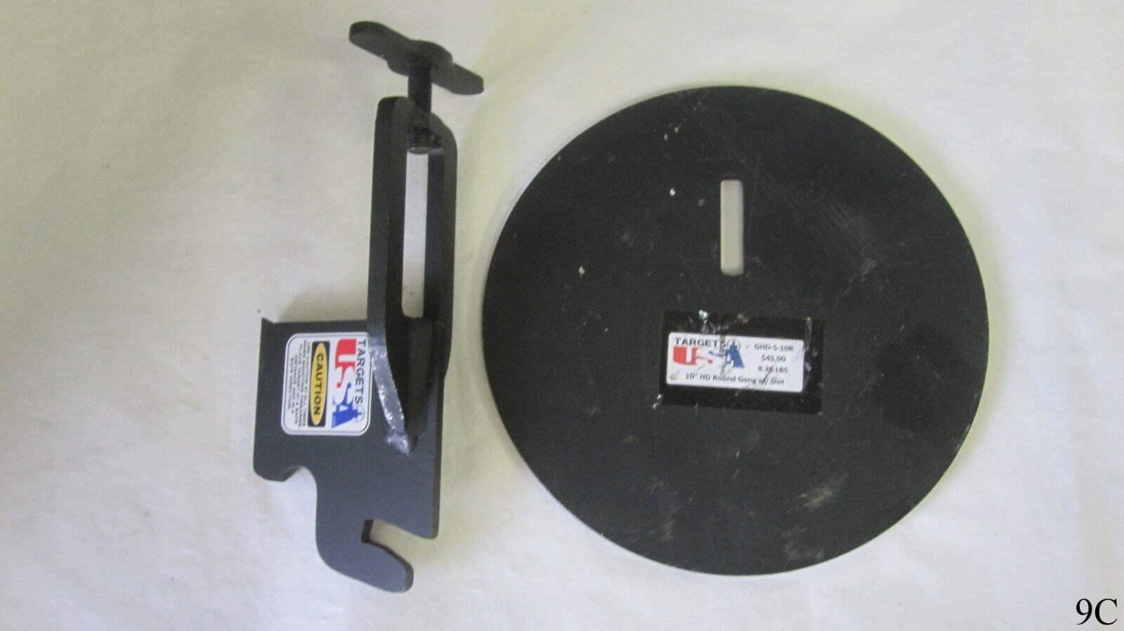 10 pulgadas 8.26 lb Gong objetivo con colgador de 2x4