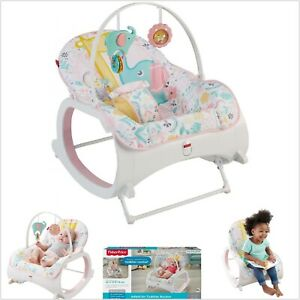 Details About Baby Rocker Bouncer Seat Sleeper For Infant To Toddler Fisher Price