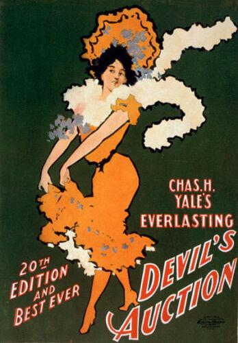 B16 Vintage Burlesque Chorus Theatre Poster A1 A2 A3