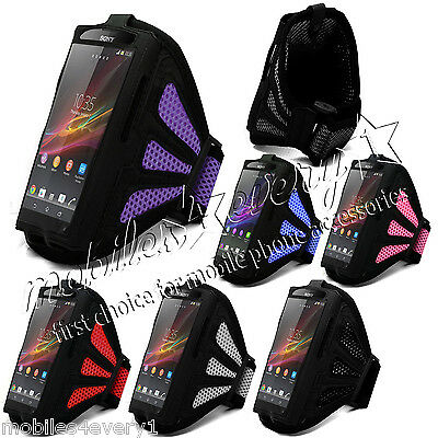 Sports Running Jogging Gym Armband Case Cover Holder for Sony Xperia