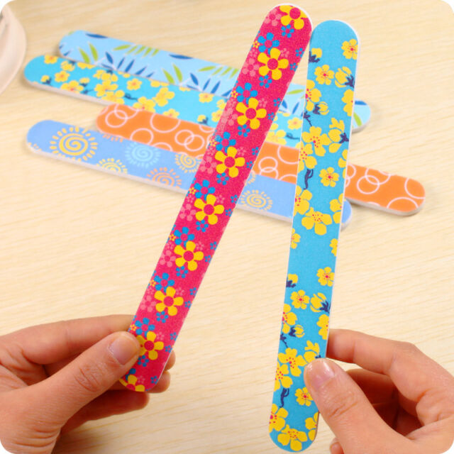 New Nail Art Sanding Files Polish Acrylic Block Buffer Manicure Tips Tools