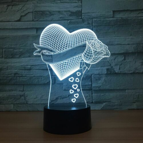 Christmas Day love colorful led touch Gift Wife Girlfriend Mom Bluetooth Speaker