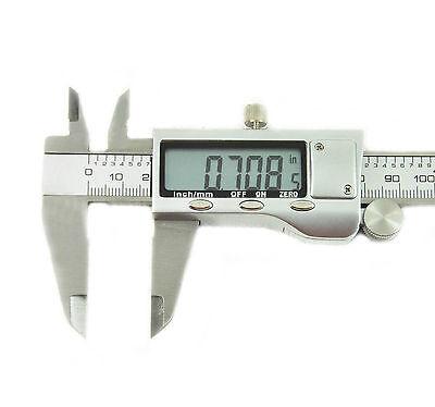"6"" 150mm Stainless Steel Electronic Digital Vernier Caliper Micrometer Guage"