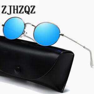 John Lennon Small Round Oval Polarized Sunglasses Vintage Retro Driving Glasses
