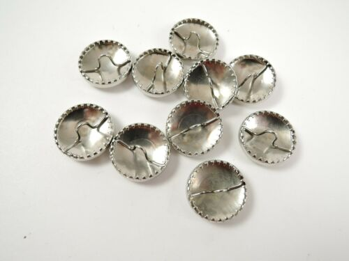 10 x 19mm Newey Metal Self Cover Easy Cover Button Buttons