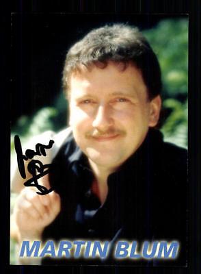 Autogramme & Autographen DemüTigen Martin Blum Autogrammkarte Original Signiert ## Bc 127682 Zahlreich In Vielfalt