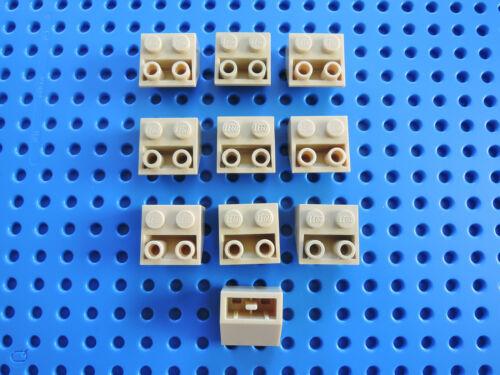 LEGO 10 x Dachstein Schrägstein 3660    2x2 negativ invers beige tan