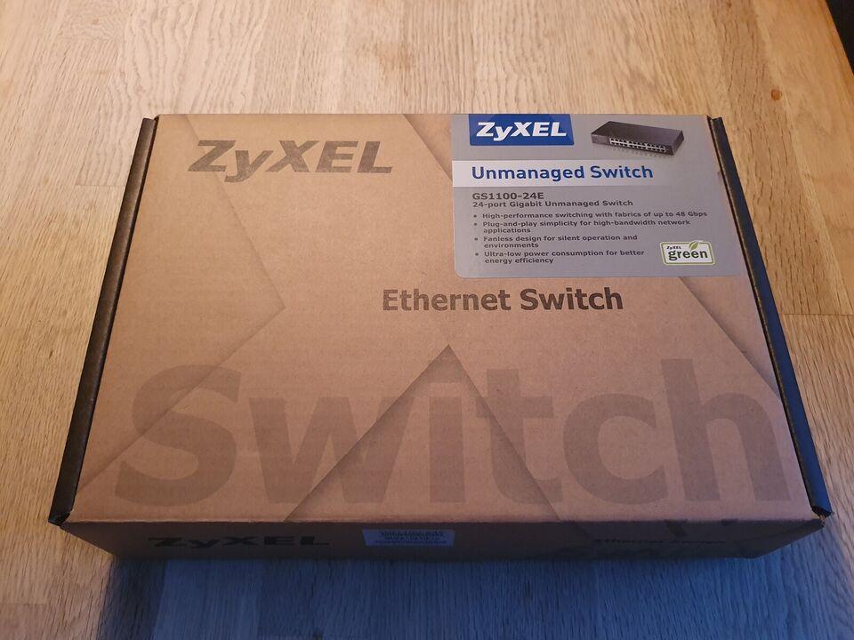 Switch, Zyxel, Perfekt