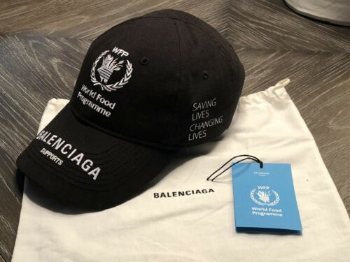 Balenciaga World Food Programme Black Cap Limited