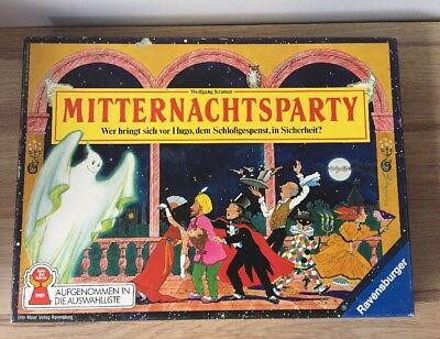 BOARD GAME RAVENSBURGER MIDNIGHT PARTY MITTERNACHTSPARTY SPARE PARTS ONL