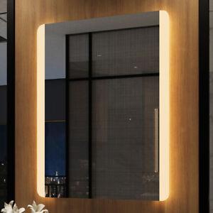Details Zu Led Badspiegel 60x80 Badezimmerspiegel Mit Beleuchtung Bad Spiegel Wandspiegel