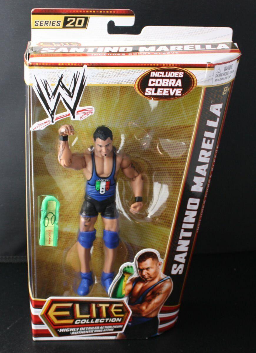 Santino Marella lucha libre Acción Figura WWE Elite Colección Serie 20 nuevo 2012