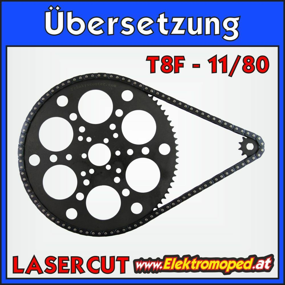 Electric Scooter spare part 11 80 T8F Complete transmission mountain 2 with ...