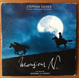 Stephan-Eicher-CD-Bande-Originale-Du-Film-Monsieur-N-Promo-France-VG-EX