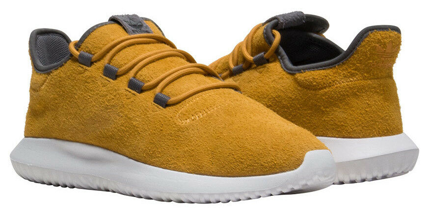 New ADIDAS Originals Originals Originals Tubular Shadow Sneaker Mens yellow suede all sizes 10bffb