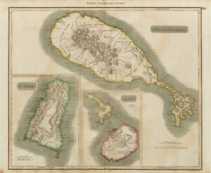 St Christophers Nevis St Lucia St Kitts West Indies THOMSON